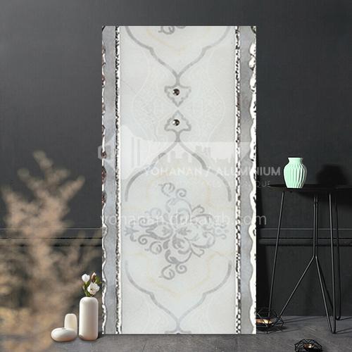 Kitchen and bathroom polished crystal brick waistline-DLBHF8892 100*300mm