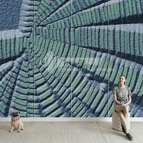 Customized 3D design Background Wall BGW151