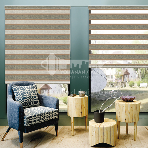 Modern minimalist style high quality soft curtain SF-RS75-HD9