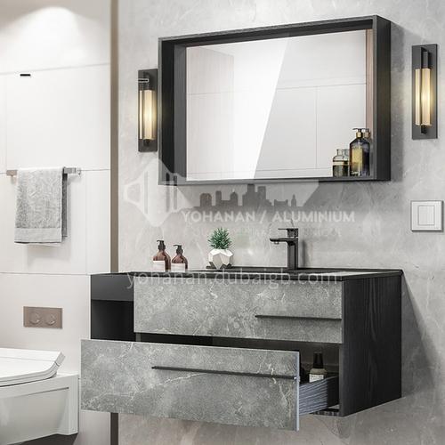 Classic matt rock stylish wall mounted plywood paint free cabinet Yanmo series
