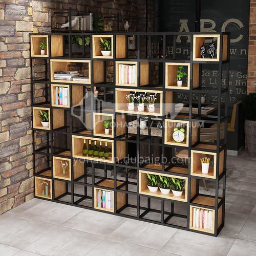 Steel Pipe Welding & Wood Box Rack Bookshelf