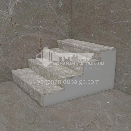 Natural classic grey marble staircase M-BA20S