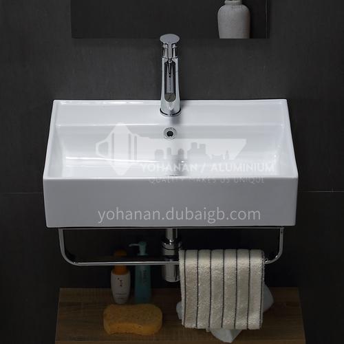 Art hotel wall-mounted washbasin household wall-mounted washbasin hanging basin sink basin Nordic style LX02361