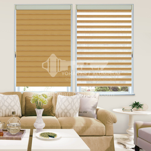 Modern minimalist style waterproof shade durable soft curtain for home office SF-RS82-125