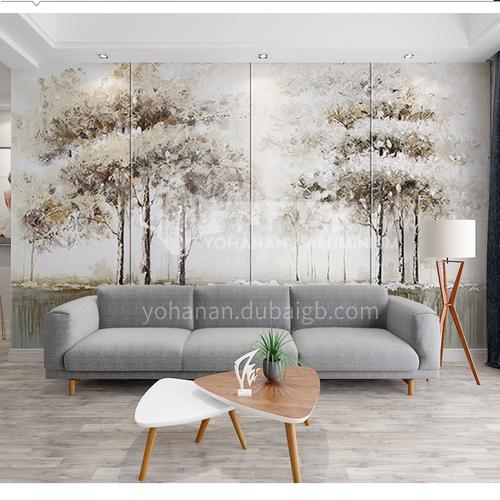 2020 latest design Customized Background Wall BGW164