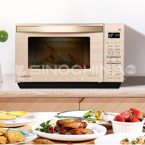 Galanz microwave oven household automatic double frequency conversion microwave oven stainless steel oven microwave integrated DQ000828