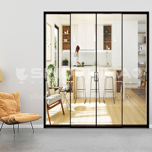 2.0mm modern style aluminum alloy extremely narrow sliding door 10
