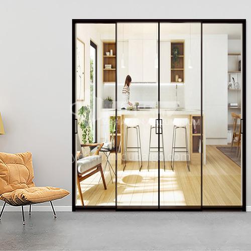 2.0mm modern style aluminum alloy extremely narrow sliding door 10