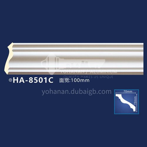 2400mm PU plain corner line European plain corner line waterproof and moisture-proof decorative line series 1