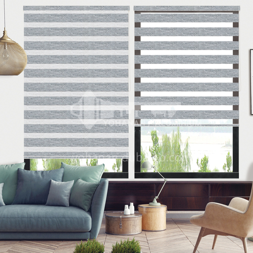 Modern minimalist style waterproof shade durable soft curtain for home office SF-RS85-MWHY203