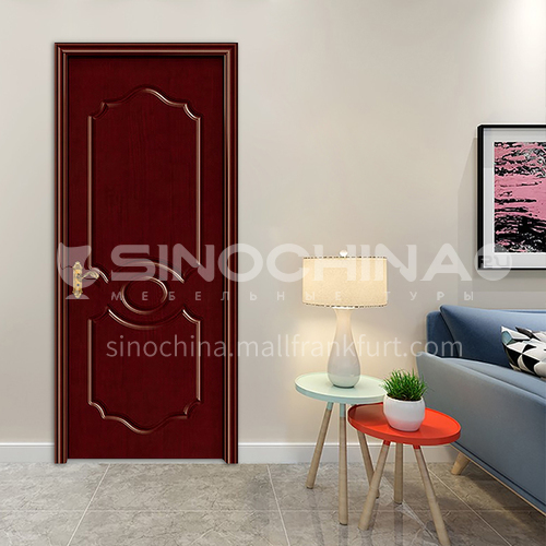 G Modern classic oak wood carved door room door interior door kitchen door solid wood door 39