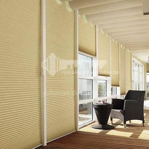 Modern minimalist style heat and sound insulation honeycomb curtain KEEWO