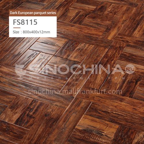 12mm laminate Art parquet flooring FS8115