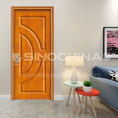 Custom Thailand oak solid wood hot sale design paint door room door interior door 44