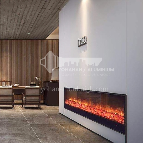 Moroni electric fireplace with heating thickened cold-rolled steel plate material closed on three sides DQ000450 YN-3000