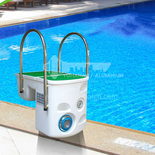 Factory direct sale water treatment circulation equipment swimming pool wall-mounted integrated filter DQ000563