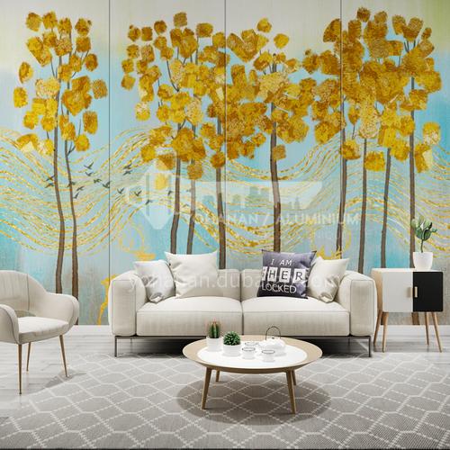 Beautiful Tree design Customized Background Wall BGW174