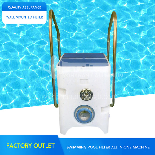 Factory direct sale water treatment circulation equipment swimming pool wall-mounted integrated filter DQ000564