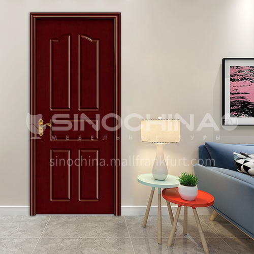 Classic design oak solid wood door apartment villa room bedroom bathroom door  52