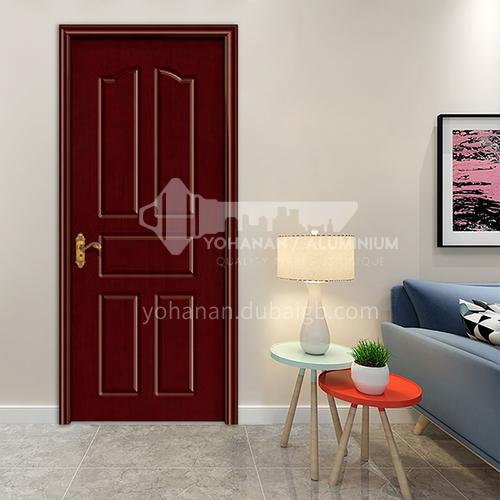 Classic design oak solid wood door apartment villa room bedroom bathroom door  52