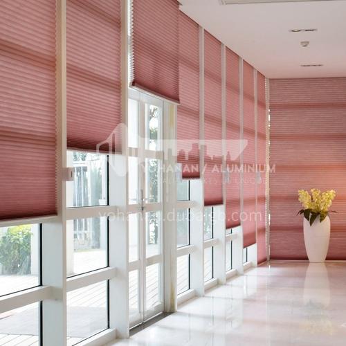 Modern minimalist style heat and sound insulation honeycomb curtain XIBAILI380