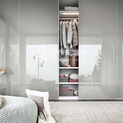 Modern style UV HDF bright paint sliding door wardrobe GW-029