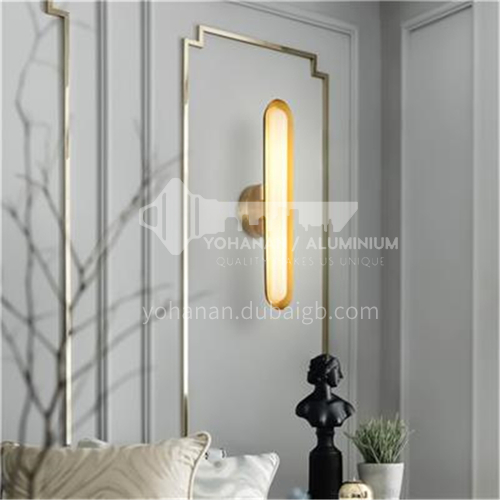 Modern creative living room wall lamp bedside bedroom wall lamp Nordic wall lamp-YDH-7077