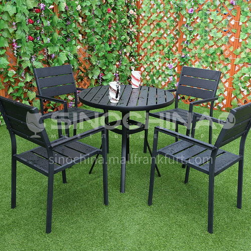 MSSM- Outdoor table and chair courtyard terrace villa high-end