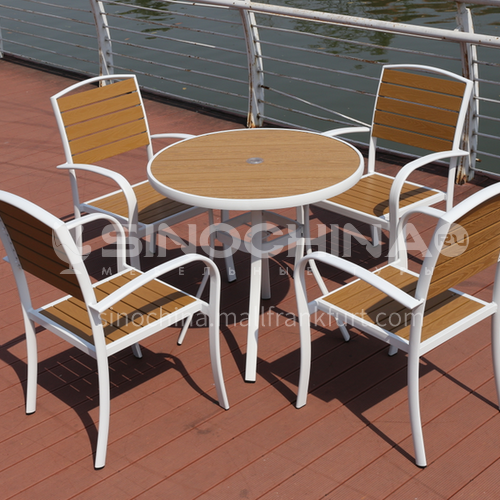 MSSM-PS033,34 Outdoor table and chair courtyard terrace villa high-grade white