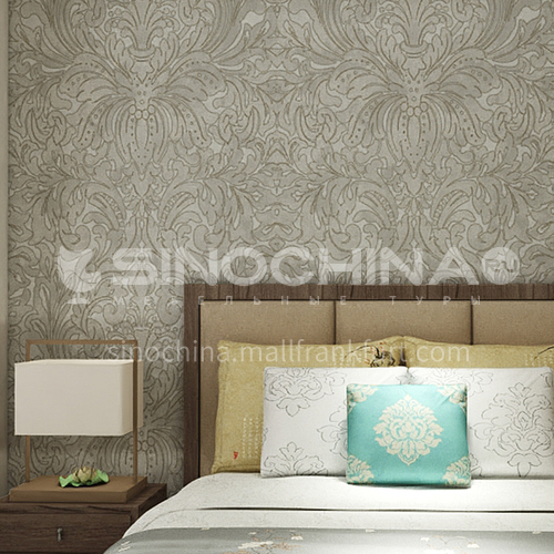 Waterproof and mildew proof living room bedroom wallpaper Classical style Wallpaper NH500 Wall decoration