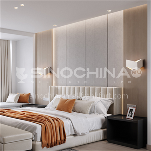 Modern minimalist wall lamp bedroom bedside LED wall lamp-YDH-7241