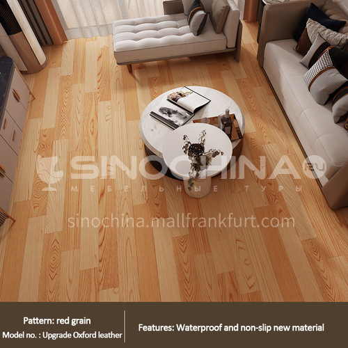 2.0mm PVC composition flooring WW-red wood grain color