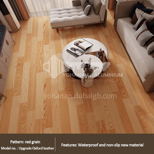 2.0mm PVC composition flooring WW-red wood grain color