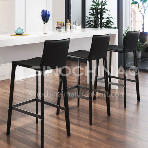 KYL-KK3910AF Italian minimalist leisure bar chair, high quality high stool bar chair, coffee table, front desk bar chair