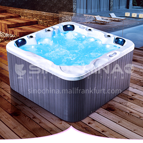 Household Adult Acrylic Surf Jacuzzi Freestanding Spa Outdoor Bath M3352