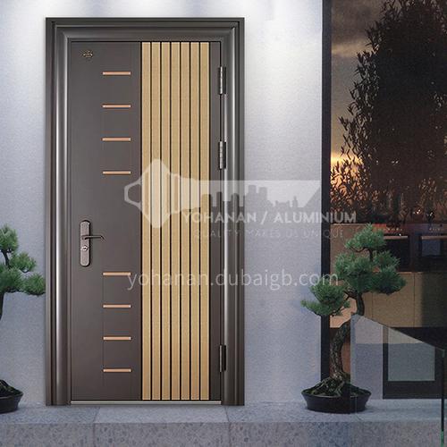 Modern outdoor entrance door Class A security door security door