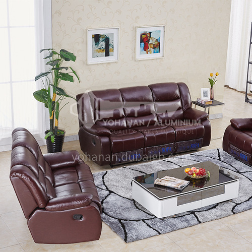 PCD-9722 High-end modern leisure first-class series Italian functional sofa + multiple material options + multi-function operation + multiple color options