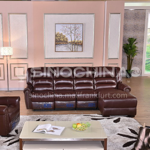 PCD-9907 High-end leisure first-class series Italian functional sofa modern size apartment + multiple material options + multi-function operation