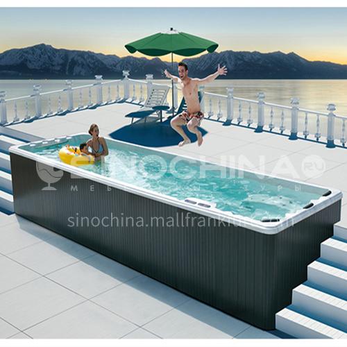 Large family private villa swimming pool outdoor heated swimming pool bathtub swimming pool multi-function bathtub M-3325