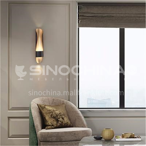 Light luxury modern creative living room wall lamp bedside bedroom study LED wall lamp-YDH-7087