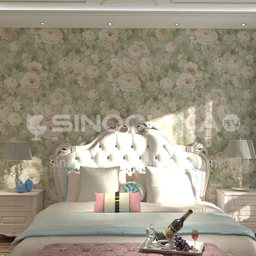 Waterproof and mildew proof living room bedroom wallpaper Classical style Wallpaper VA619 Wall decorationn