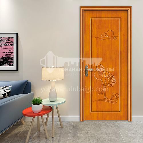 G modern classic oak flat carved door room door interior door kitchen door solid wood door 60