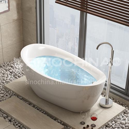 Bathroom  freestanding   White Acrylic   bathtub