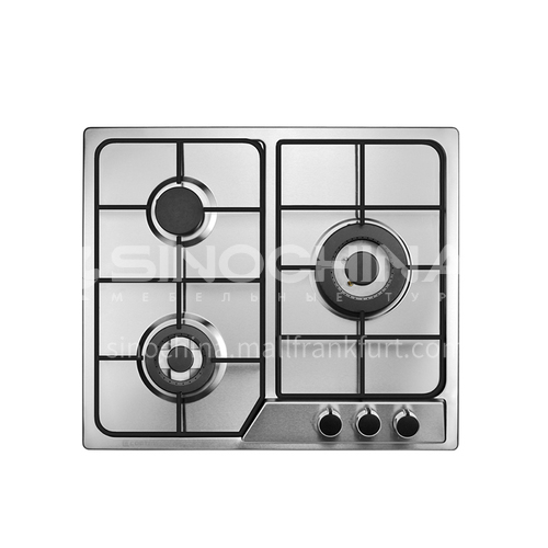 COOTAW three-burner stove built-in stainless steel natural gas gas stove DQ000434