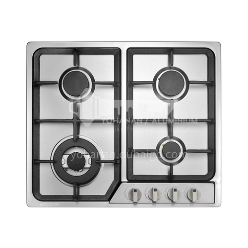 COOTAW Four-eye stove built-in stainless steel natural gas liquefied gas gas stove DQ000435