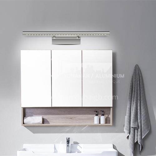 Bathroom LED Mirror Front Light Stainless Steel Mirror Light Dressing Room Adjustable Rocker Mirror Cabinet Light-JS-5530