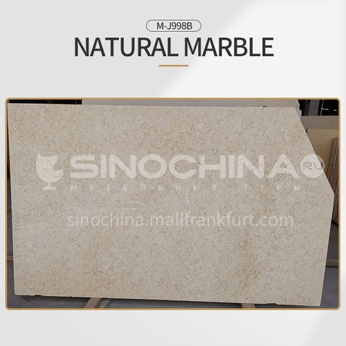 Modern and simple beige natural marble M-J998B