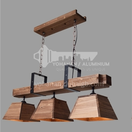 American country living room lamp chandelier creative personality retro industrial style restaurant box restaurant hot pot shop chandelier WYN-7895-D6