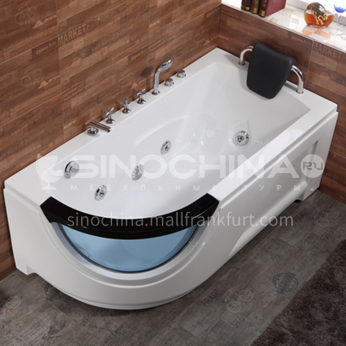 Modern design   hot sale    acrylic bathtub   with massage function    Jacuzzi