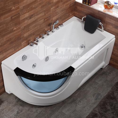 Modern design   hot sale    acrylic bathtub   with massage function    Jacuzzi